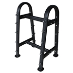 French Fitness Professional Barbell Rack Image