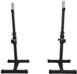 French Fitness R1 Dual Adjustable Squat Stand / Rack Image