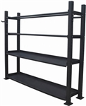 French Fitness 7 ft Combination Universal Storage Rack Image