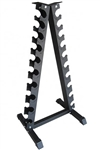 French Fitness FF-TDR Triangle Vertical Dumbbell Rack Image