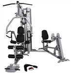 French Fitness X4 Home Gym System w/Leg Press Image