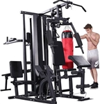 French Fitness X5 5 Station Multi Gym System Image