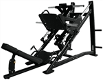 French Fitness FFB Black 45 Degree Linear Leg Press Image