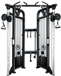 French Fitness FFB Black Dual Adjustable Pulley Image