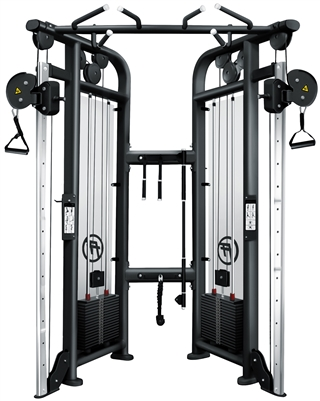 French Fitness Black FFB Dual Adjustable Pulley Image