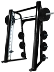 French Fitness FFB Black Elite Smith Machine Image