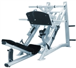 French Fitness FFS Silver 45 Degree Linear Leg Press Image
