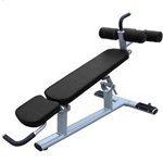 French Fitness FFS Silver Abdominal / Adj Decline Bench Image