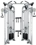 French Fitness Silver FFS Dual Adjustable Pulley Image