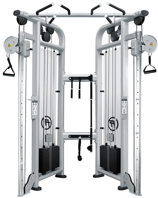 French Fitness FFS Silver Dual Adjustable Pulley Image
