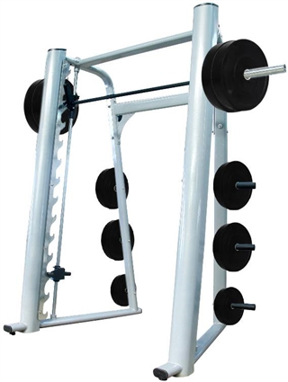 French Fitness Silver FFS Elite Smith Machine Image
