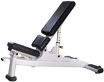 French Fitness Silver FFS-MAB Multi Adjustable Bench Image