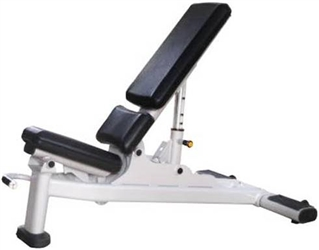 French Fitness FFS Silver MAB Multi Adjustable Bench Image