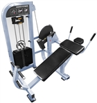 French Fitness Shasta Selectorized Horizontal Ab Crunch Image