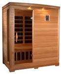 GoldenDesigns GDI-3306-01 Low EMF Far Infrared Sauna | Image