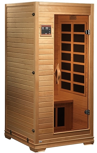 GoldenDesigns GDI-6109-01 Low EMF Far Infrared Sauna | Image