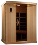 GoldenDesigns GDI-6354-01 Near Zero EMF Far IR Sauna | Image