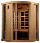 GoldenDesigns GDI-6365-01 Near Zero EMF Far IR Sauna | Image