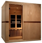 GoldenDesigns GDI-6880-01 Near Zero EMF Far IR Sauna | Image