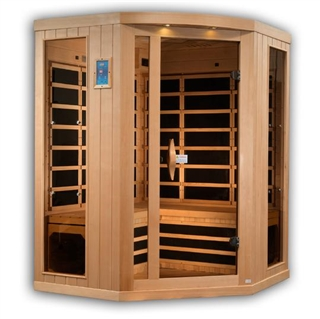 GoldenDesigns GDI-8035-01 Near Zero EMF Far IR Sauna | Image