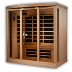 GoldenDesigns GDI-8040-01 Near Zero EMF Far IR Sauna | Image