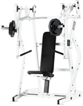Hammer Strength ISO P/L Decline Press White w/Black UPH Image