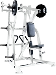 Hammer Strength ISO P/L Low Row White w/Black UPH Image