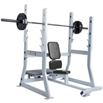 Hammer Strength Olympic Military Bench Image
