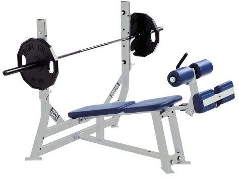 Hammer Strength P L Olympic Decline Bench Fitness Superstore
