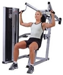 Life Fitness Club Series Shoulder Press Image