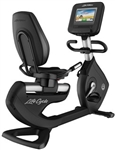 Life Fitness Elevation Series Recumbent Lifecycle Exercise Bike with Discover SI Console-image