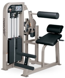 Life Fitness Pro2 SE Back Extension (Remanufactured)