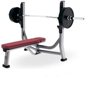 Life Fitness Signature Series Olympic Flat Bench (Remanufactured)
