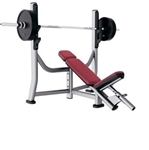 Life Fitness Signature Series Olympic Incline Bench Image