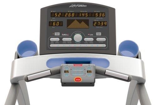 Life fitness t7-0 premium treadmill lightly used. Originally over.
