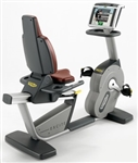 Technogym Excite 700e Recumbent Recline Bike w/Visioweb Image