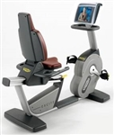 Technogym 700e Recumbent Recline Bike w/TV Image