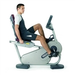 Technogym Excite 700i Recline Exercise Bike Image