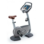 Technogym Excite 700e Upright Exercise Bike w/TV Image