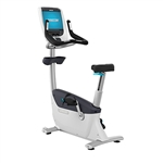 Precor UBK 885 Upright Bike w/ P80 Console Image