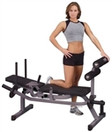 Body-Solid Horizontal Ab Crunch Bench Image