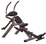 Body-Solid Semi-Recumbent Ab Bench Image