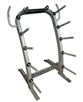Body-Solid GCR100 Cardio Barbell Weight Rack Image