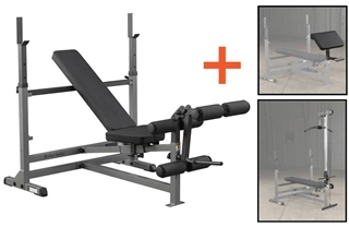 Body-Solid Powercenter Combo Bench Package Image