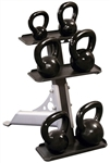 Body Solid GDKR50 3-Pair Kettlebell Rack Image