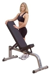 Body-Solid Heavy Duty Flat Incline Bench  Image