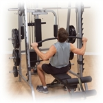 Body-Solid Lat Attachment for Series 7 Smith Machine Image