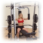 Body-Solid Pec Dec Station for Series 7 Smith Machine Image