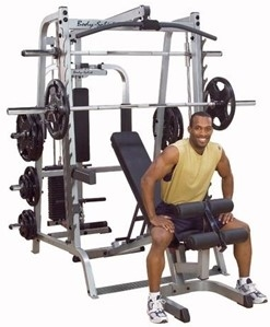 Body-Solid GS348QP4 Series 7 Smith Gym System Image