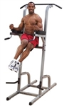 Body-Solid Deluxe Vertical Knee Raise, Dip, Pull Up Image